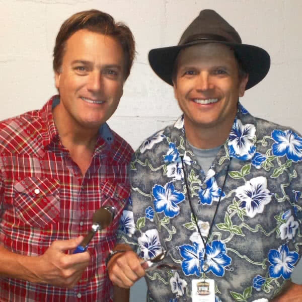 Michael W Smith with Jim Cruise